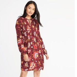 Old Navy floral twill dress